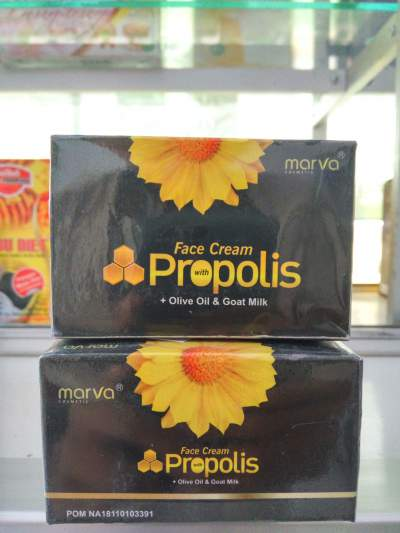 Cream Wajah Propolis Marva, Cream Wajah Herbal Propolis, Face Cream Propolis Marva, Krim Wajah Herbal Propolis Marva, Manfaat Cream Marva Propolis, Khasiat Cream Marva Propolis, Harga Cream Marva Propolis
