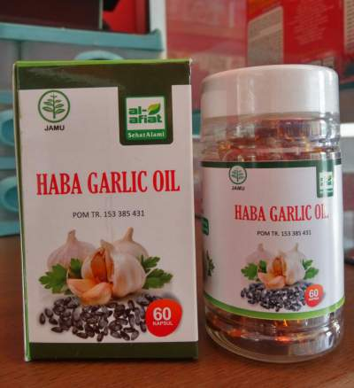 Haba Garlic, Haba Garlic Oil, Habba Garlic, Manfaat Habba Garlic Oil, Habba Garlic Manfaat, Harga Habbagarlic, Habbagarlic Kapsul