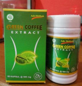 Kapsul Extract Green Coffee Semarang