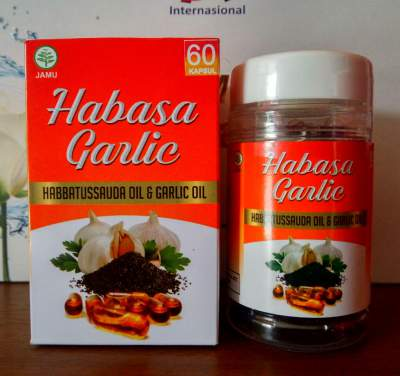 Habasa Garlic, Habasa Garlic Oil, Manfaat Habbatussauda Garlic, Kapsul Minyak Habbat Garlic, Habbats Garlic, Harga Habbagarlic, Jual Habba Garlic