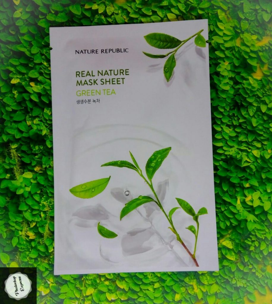 nature republic green tea mask, kegunaan masker nature republic green tea, nature republic green tea mask sheet, masker nature republic green tea, nature republic real nature mask sheet green tea, nature republic real nature mask sheet green tea review, nature republic green tea sheet mask review,