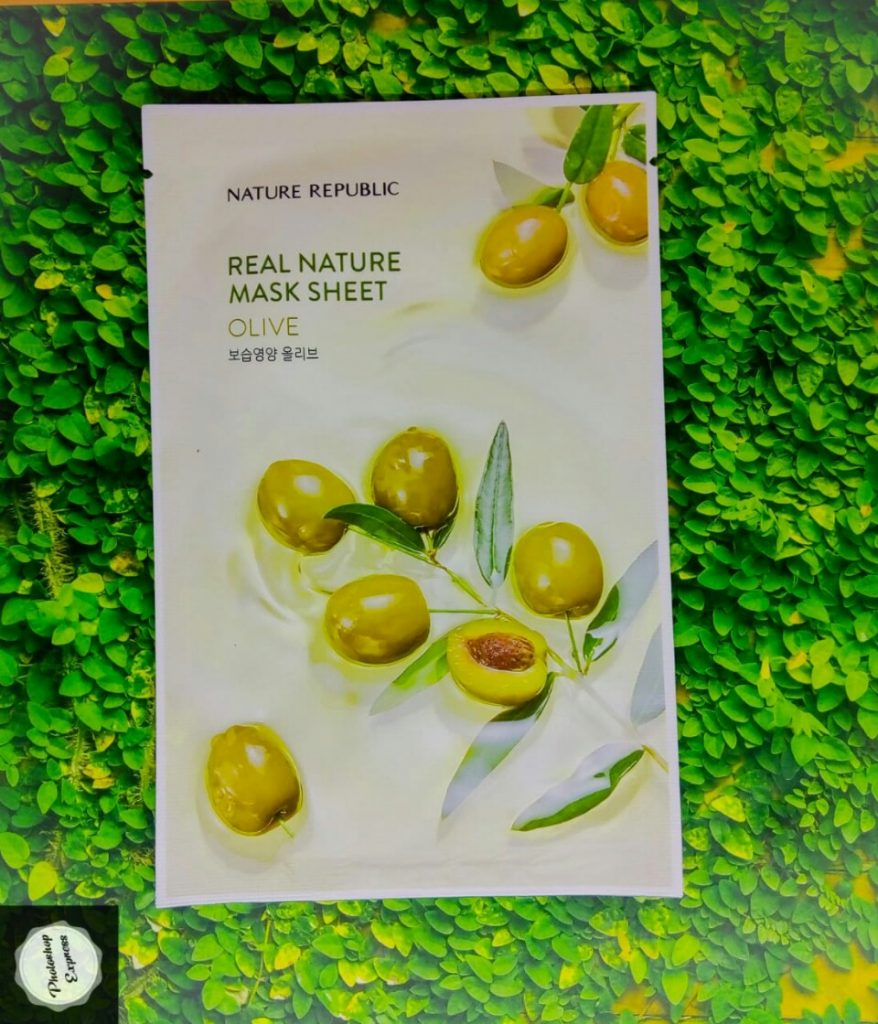 nature republic olive mask, nature republic olive sheet mask, nature republic olive mask review, nature republic olive face mask review, nature republic olive oil mask, kegunaan masker nature republic olive, manfaat nature republic mask olive,