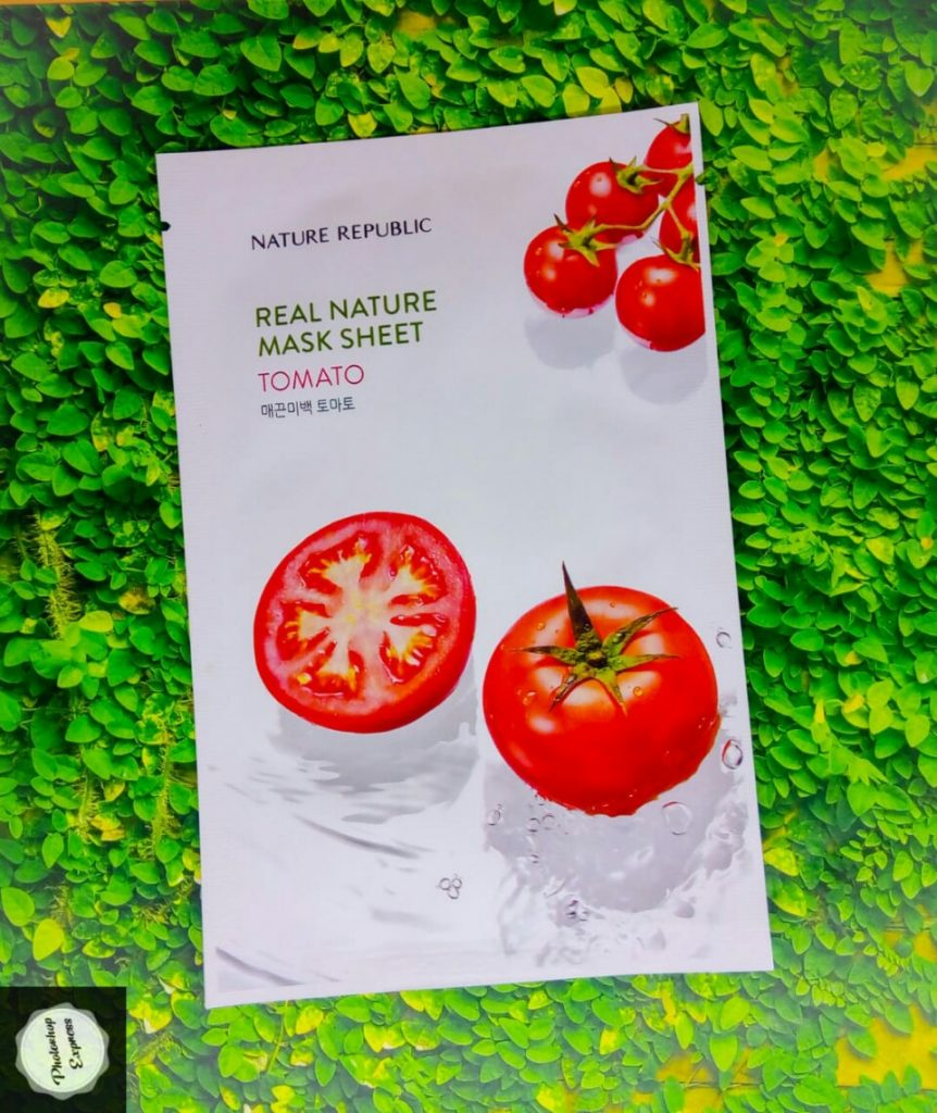 nature republic mask sheet tomato, manfaat nature republic mask sheet tomato, nature republic real nature mask sheet tomato, nature republic tomato mask sheet review indonesia, nature republic real nature mask sheet tomato review, nature republic sheet mask tomato review, nature republic tomato mask sheet
