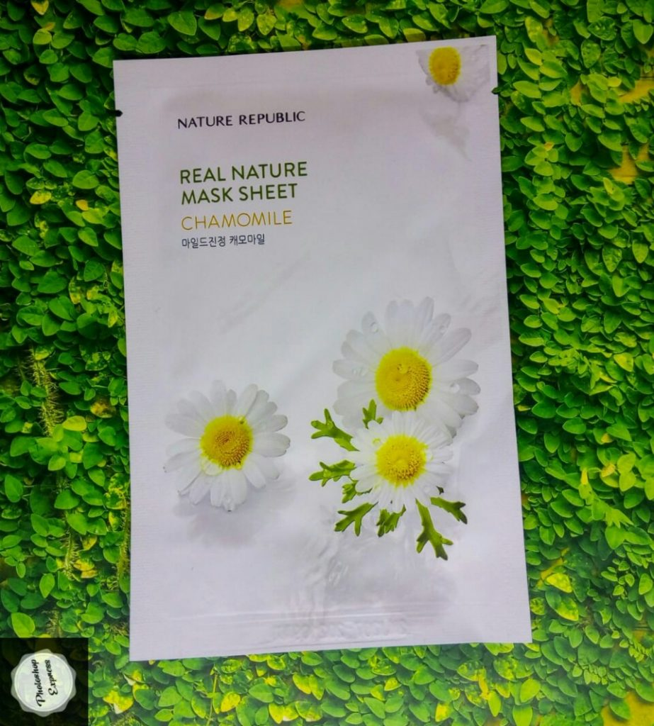 nature republic chamomile mask, nature republic chamomile mask review, nature republic chamomile mask sheet review, nature republic chamomile sheet mask, fungsi nature republic chamomile, nature republic chamomile mask review indonesia, kegunaan masker nature republic chamomile,