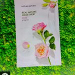 nature republic rose sheet mask, kegunaan nature republic rose, nature republic rose mask sheet review, nature republic masker rose, nature republic rose mask review, nature republic real nature mask sheet rose, manfaat sheet mask nature republic rose,